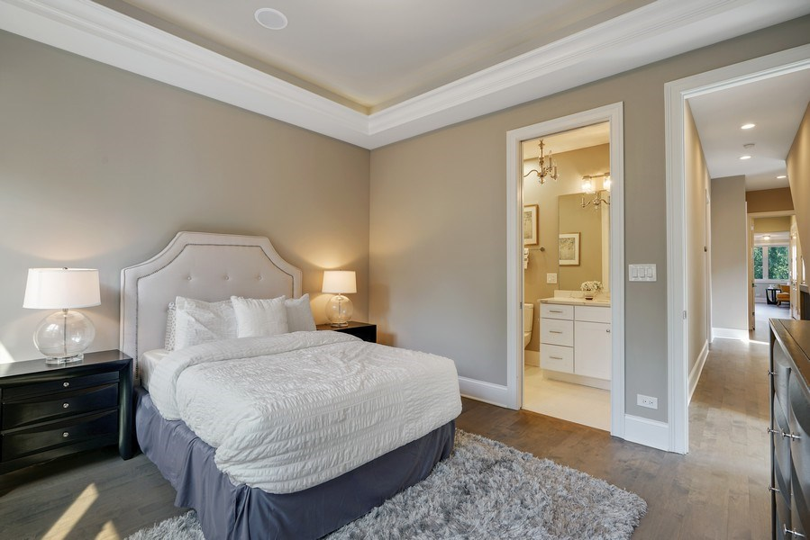 Real Estate Photography - 3423 N. Bell, Chicago, IL, 60618 - 2nd Bedroom