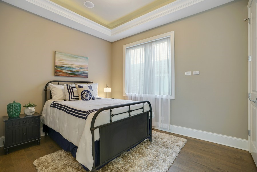 Real Estate Photography - 3423 N. Bell, Chicago, IL, 60618 - 3rd Bedroom