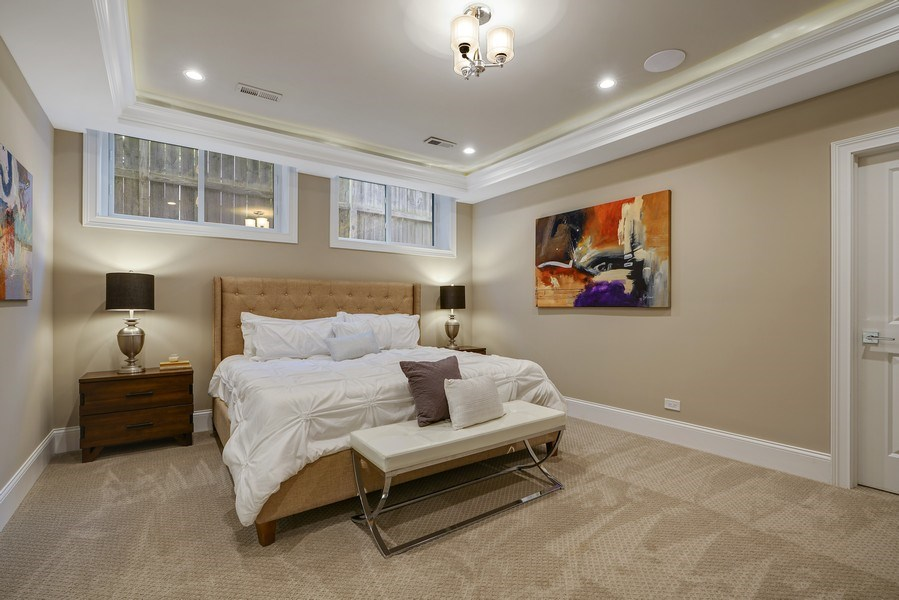 Real Estate Photography - 3423 N. Bell, Chicago, IL, 60618 - 4th Bedroom