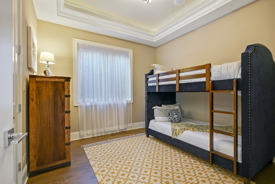 Real Estate Photography - 3423 N. Bell, Chicago, IL, 60618 - 5th Bedroom