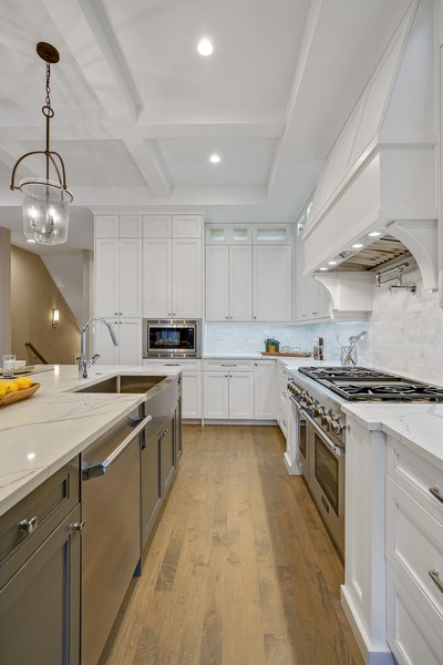 Real Estate Photography - 3423 N. Bell, Chicago, IL, 60618 - Kitchen