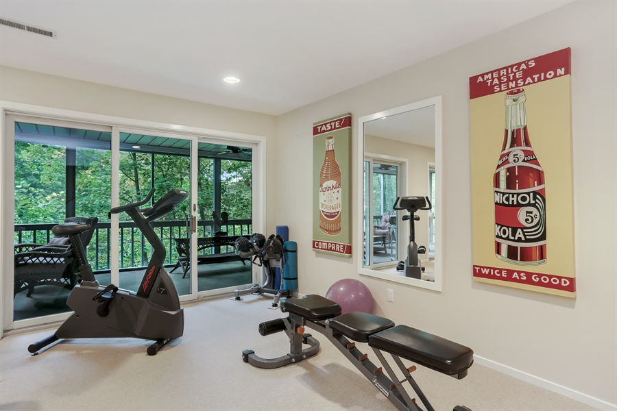 Real Estate Photography - 9836 Weko Drive, 21, Bridgman, MI, 49106 - Exercise Room