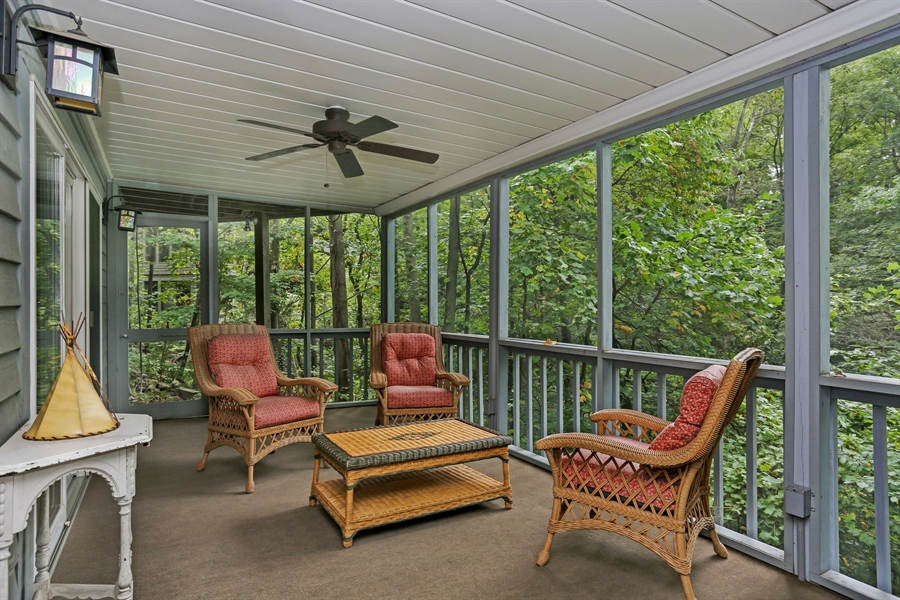 Real Estate Photography - 9836 Weko Drive, 21, Bridgman, MI, 49106 - Porch