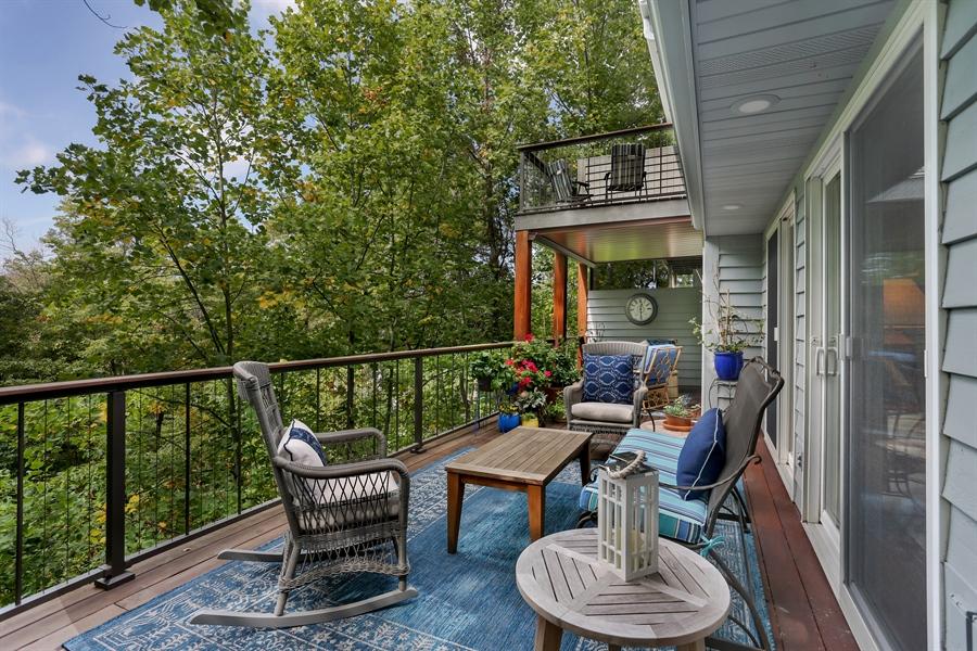 Real Estate Photography - 9836 Weko Drive, 21, Bridgman, MI, 49106 - Deck
