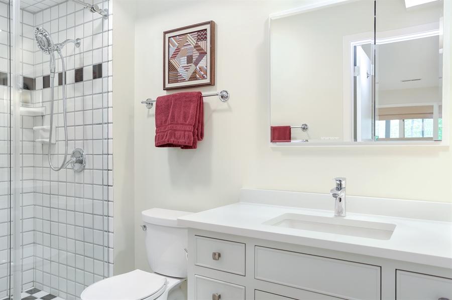 Real Estate Photography - 9836 Weko Drive, 21, Bridgman, MI, 49106 - Full Bathroom #2 of 3