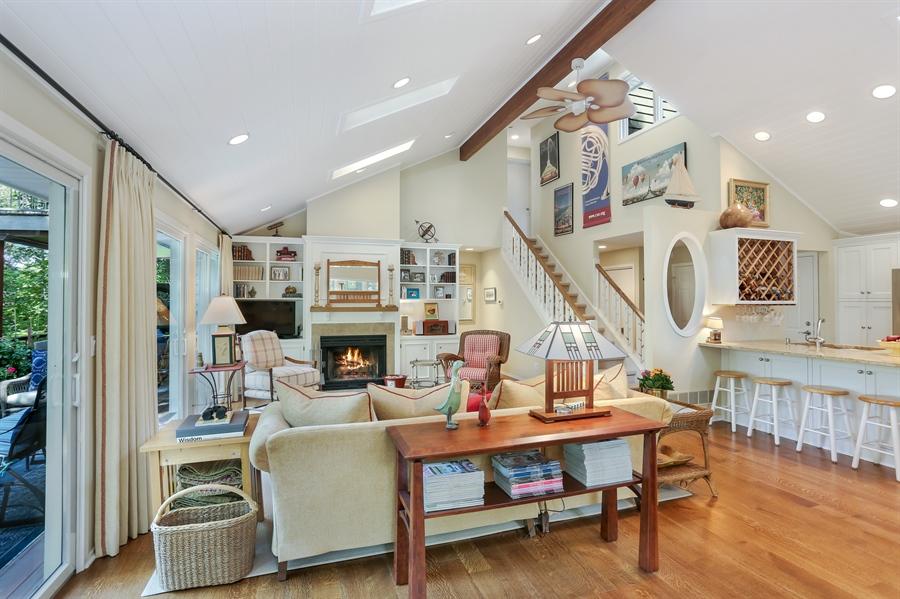 Real Estate Photography - 9836 Weko Drive, 21, Bridgman, MI, 49106 - Living Room / Kitchen