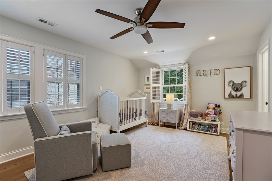 Real Estate Photography - 2400 Greenwood Ave, Wilmette, IL, 60091 - 2nd Bedroom