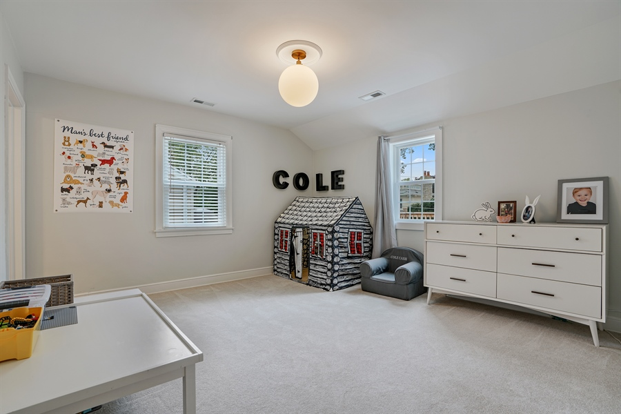 Real Estate Photography - 2400 Greenwood Ave, Wilmette, IL, 60091 - 3rd Bedroom