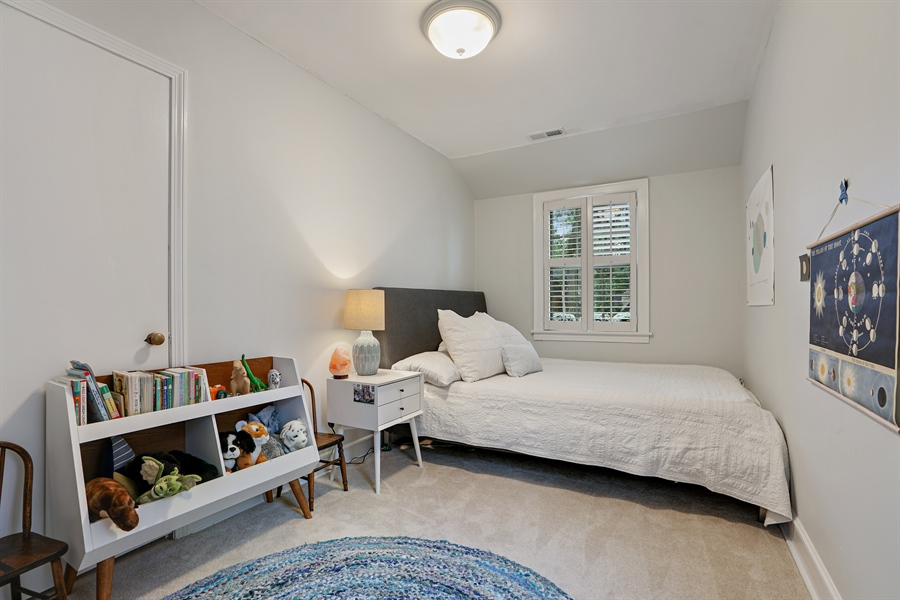 Real Estate Photography - 2400 Greenwood Ave, Wilmette, IL, 60091 - 4th Bedroom