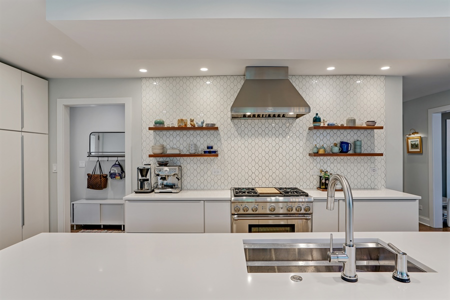 Real Estate Photography - 2400 Greenwood Ave, Wilmette, IL, 60091 - Kitchen