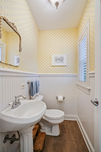 Real Estate Photography - 2400 Greenwood Ave, Wilmette, IL, 60091 - Bathroom