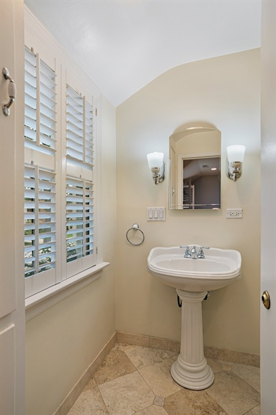 Real Estate Photography - 2400 Greenwood Ave, Wilmette, IL, 60091 - 2nd Bathroom