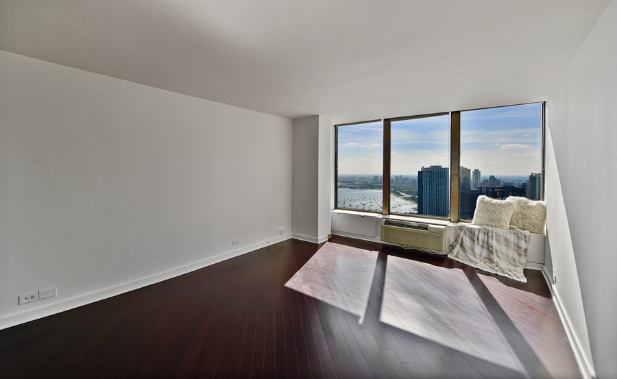 Real Estate Photography - 505 N Lake Shore Dr, Unit 5607, Chicago, IL, 60611 - Master Bedroom