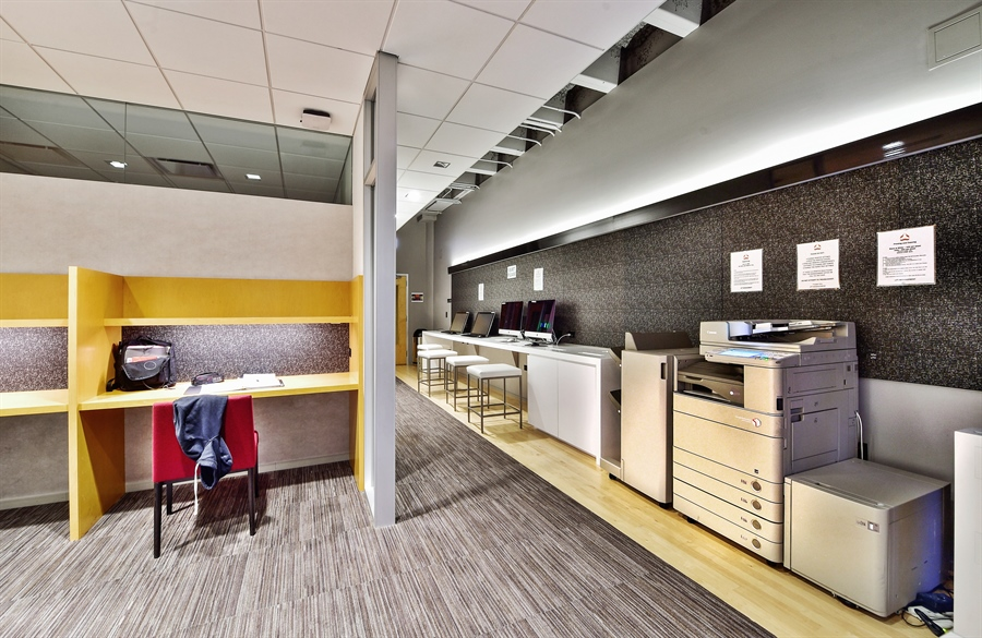 Real Estate Photography - 505 N Lake Shore Dr, Unit 5607, Chicago, IL, 60611 - Media Room