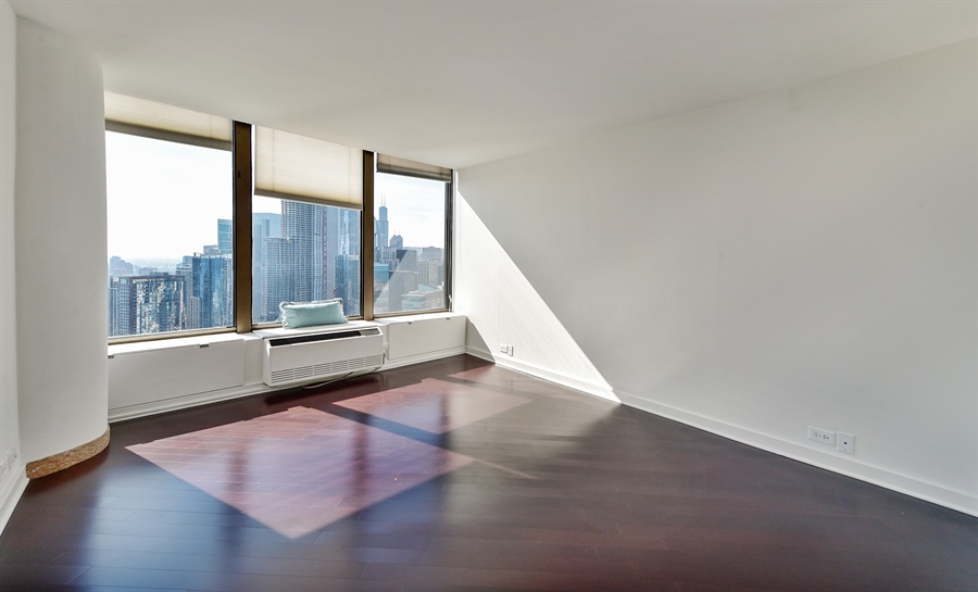 Real Estate Photography - 505 N Lake Shore Dr, Unit 5607, Chicago, IL, 60611 - 3rd Bedroom