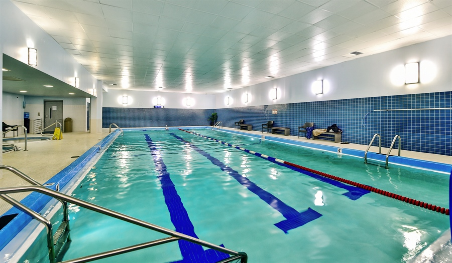 Real Estate Photography - 505 N Lake Shore Dr, Unit 5607, Chicago, IL, 60611 - Pool