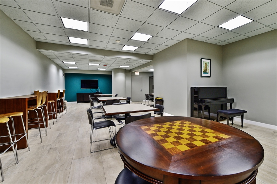 Real Estate Photography - 505 N Lake Shore Dr, Unit 5607, Chicago, IL, 60611 - Play / Recreational Room