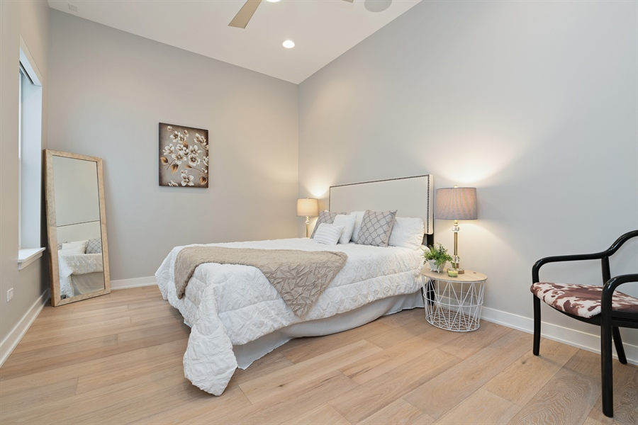 Real Estate Photography - 1611 N Hermitage Ave, Unit #302, Chicago, IL, 60622 - 2nd Bedroom