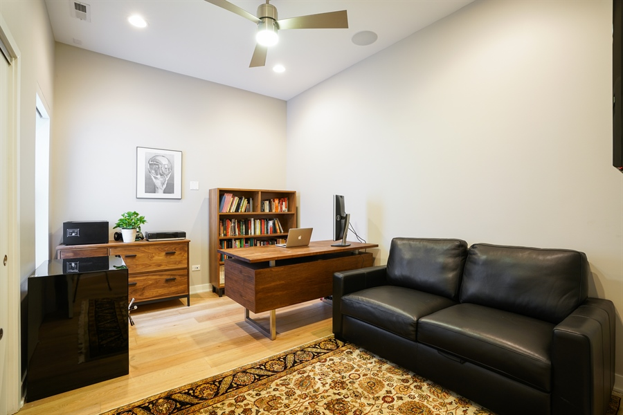 Real Estate Photography - 1611 N Hermitage Ave, Unit #302, Chicago, IL, 60622 - 3rd Bedroom
