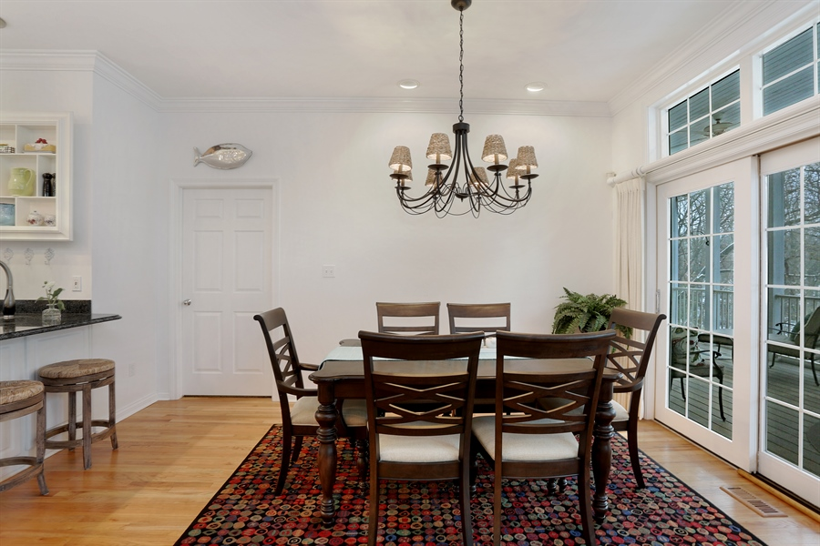 Real Estate Photography - 18459 Dunecrest Drive, 32, New Buffalo, MI, 49117 - Dining Room
