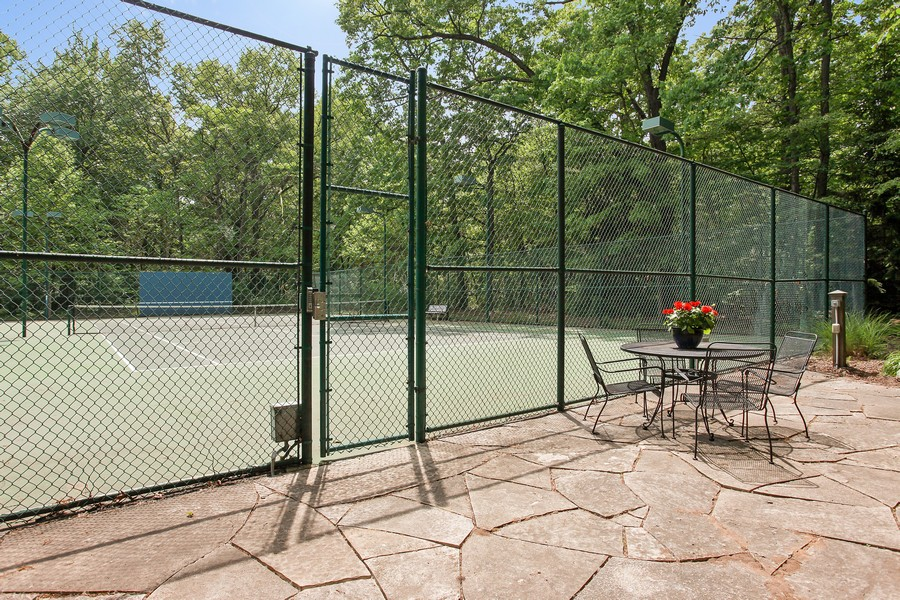 Real Estate Photography - 18459 Dunecrest Drive, 32, New Buffalo, MI, 49117 - Forest Beach Tennis Courts