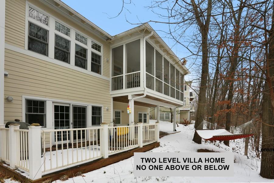 Real Estate Photography - 18459 Dunecrest Drive, 32, New Buffalo, MI, 49117 - Rear- Two Level Villa Home