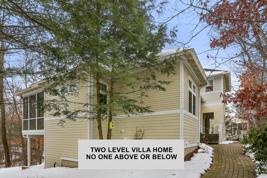 Real Estate Photography - 18459 Dunecrest Drive, 32, New Buffalo, MI, 49117 - Side- Two Level Villa
