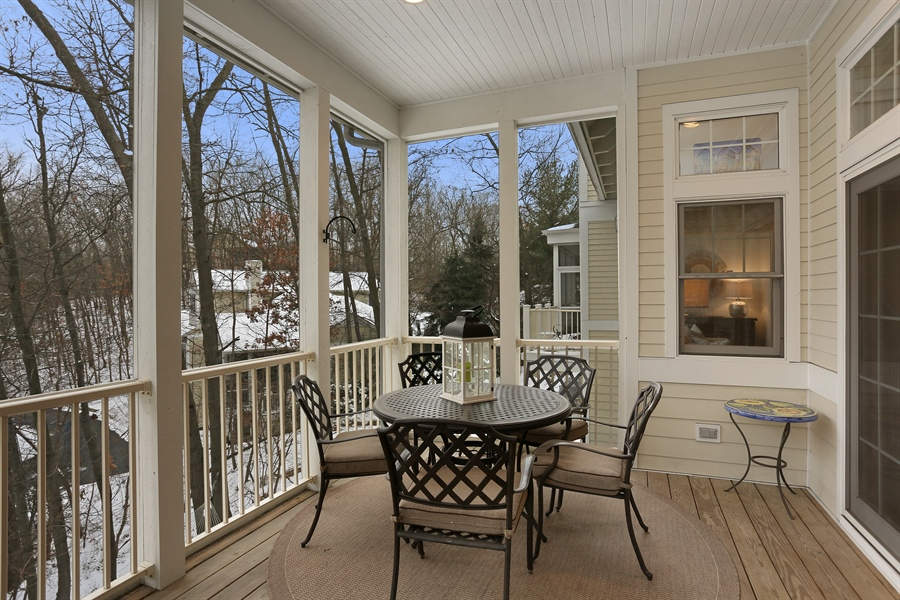 Real Estate Photography - 18459 Dunecrest Drive, 32, New Buffalo, MI, 49117 - Sun Room
