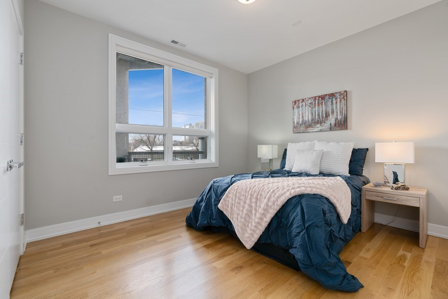 Real Estate Photography - 1317 N. Larrabee, #205, Chicago, IL, 60610 - 2nd Bedroom
