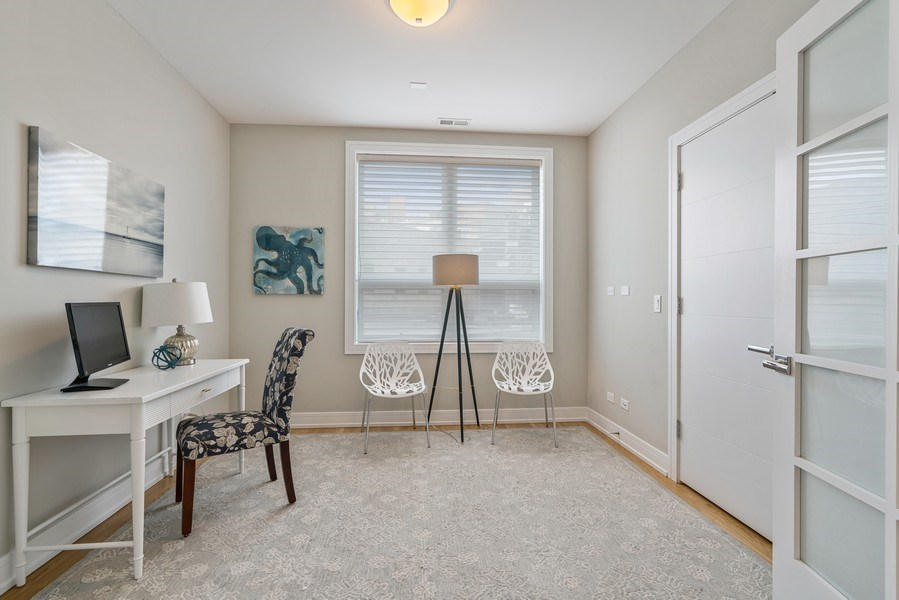 Real Estate Photography - 1317 N. Larrabee, #205, Chicago, IL, 60610 - 3rd Bedroom