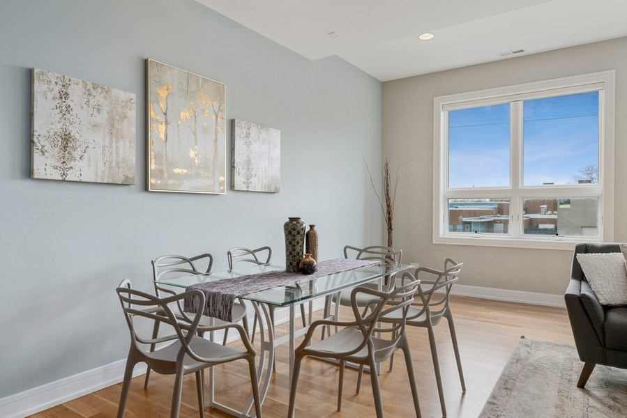 Real Estate Photography - 1317 N. Larrabee, #205, Chicago, IL, 60610 - Dining Room