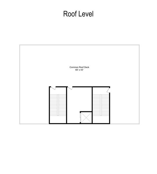 Real Estate Photography - 1317 N. Larrabee, #205, Chicago, IL, 60610 - Floor Plan