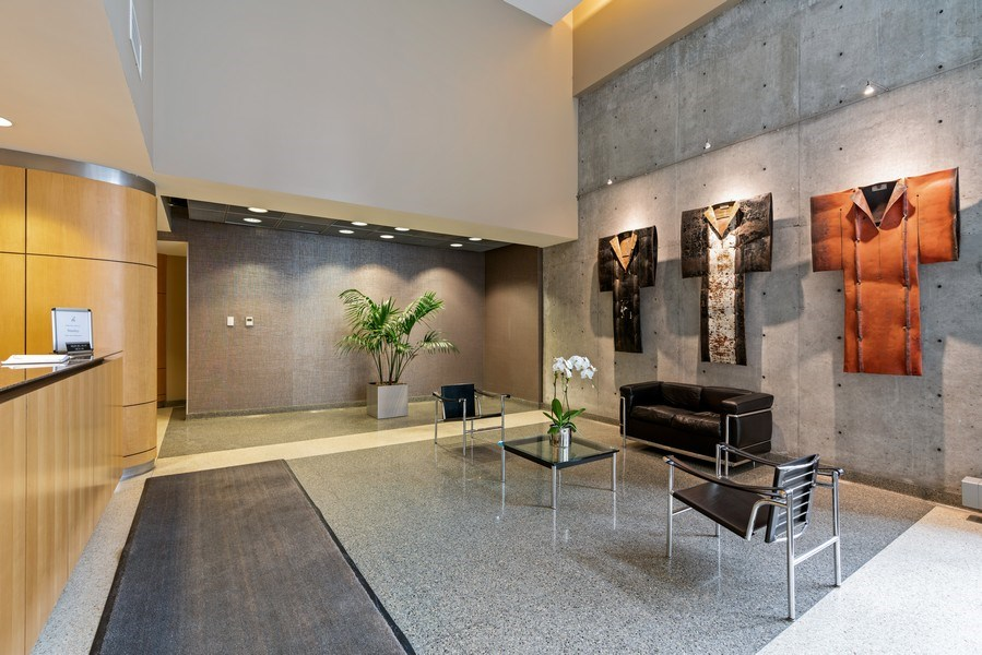 Real Estate Photography - 720 N. Larrabee, #1708, Chicago, IL, 60654 - Lobby