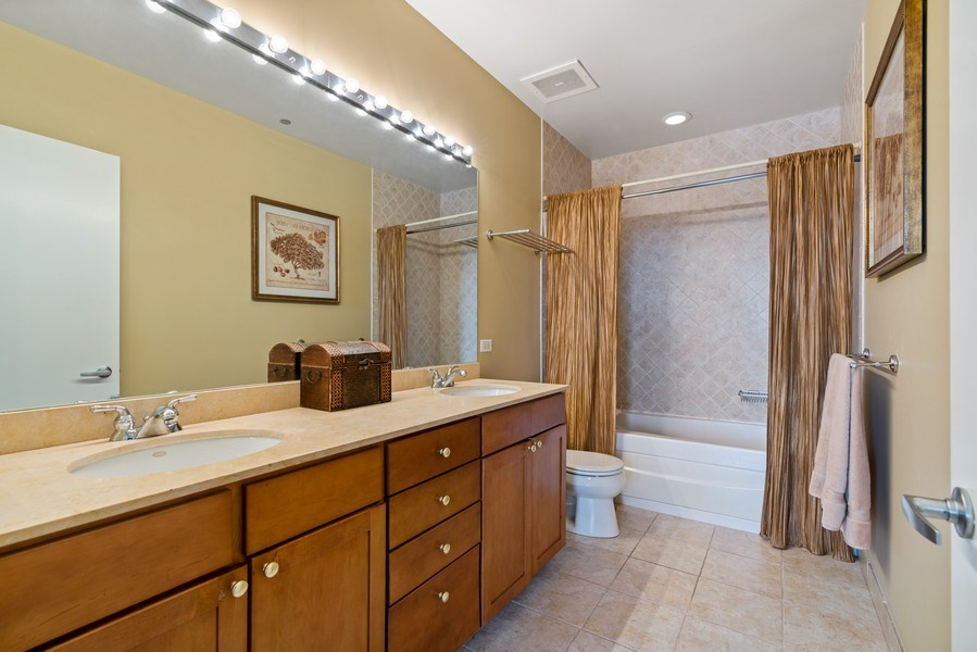 Real Estate Photography - 720 N. Larrabee, #1708, Chicago, IL, 60654 - Master Bathroom