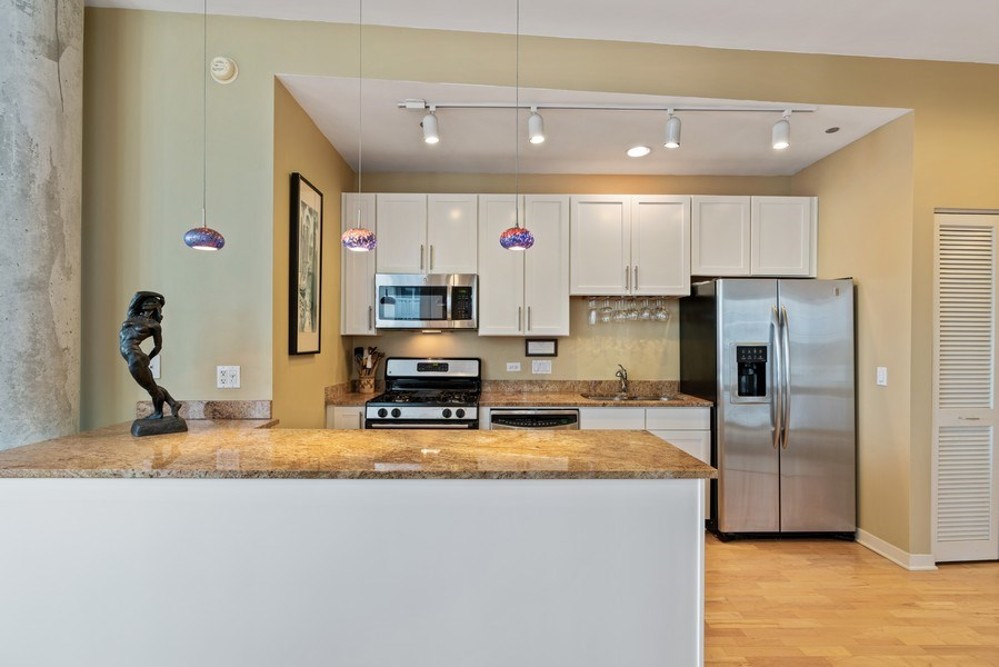 Real Estate Photography - 720 N. Larrabee, #1708, Chicago, IL, 60654 - Kitchen