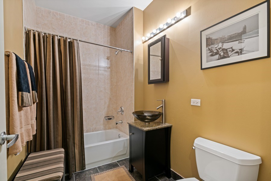 Real Estate Photography - 720 N. Larrabee, #1708, Chicago, IL, 60654 - Bathroom