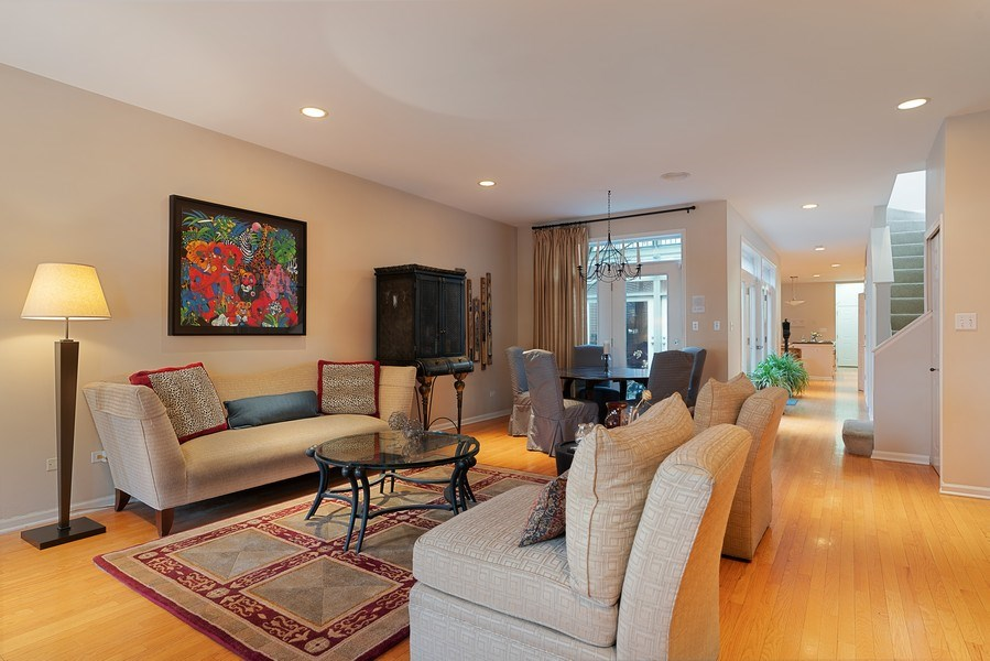 Real Estate Photography - 1524 N North Park Ave, Chicago, IL, 60610 - Living Room