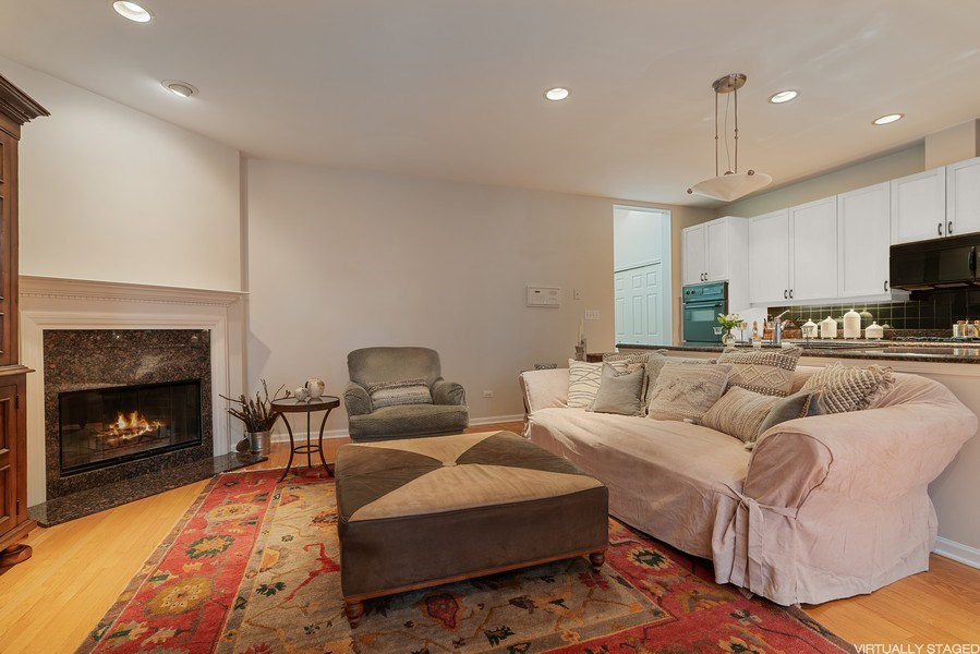 Real Estate Photography - 1524 N North Park Ave, Chicago, IL, 60610 - Family Room