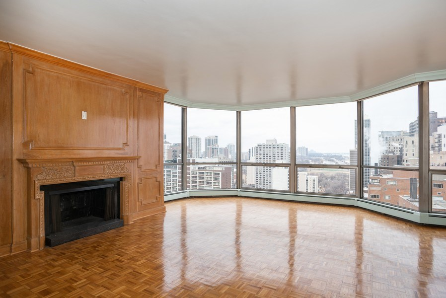 Real Estate Photography - 1310 N. Ritchie Ct., 27A, Chicago, IL, 60611 - Living Room