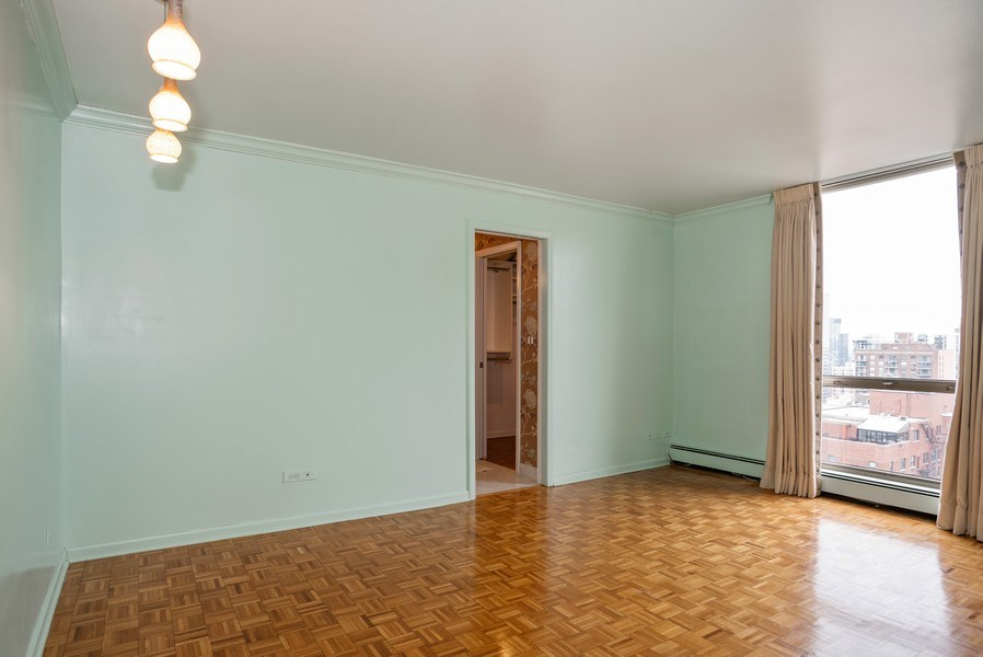 Real Estate Photography - 1310 N. Ritchie Ct., 27A, Chicago, IL, 60611 - Master Bedroom