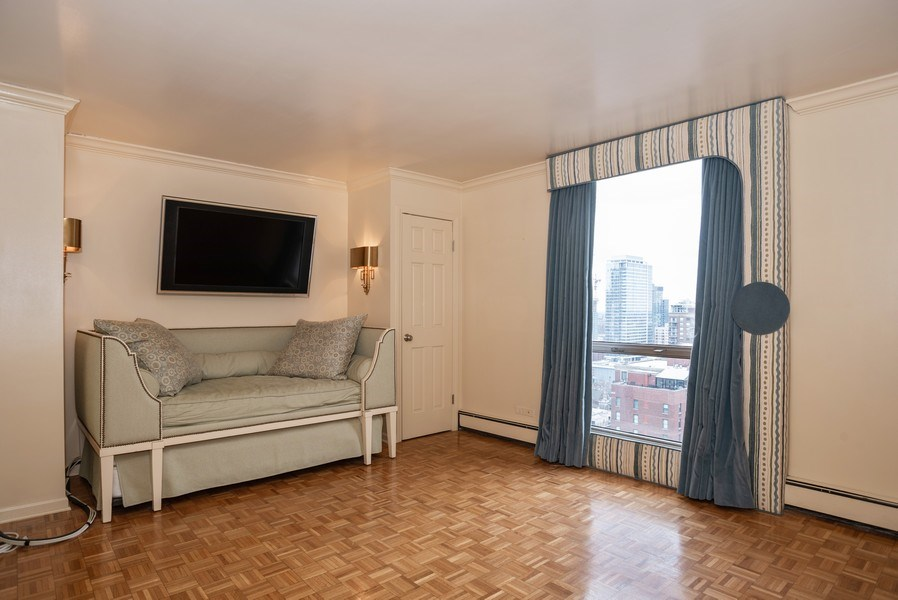 Real Estate Photography - 1310 N. Ritchie Ct., 27A, Chicago, IL, 60611 - 2nd Bedroom