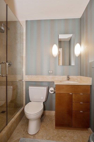 Real Estate Photography - 1310 N. Ritchie Ct., 27A, Chicago, IL, 60611 - Bathroom