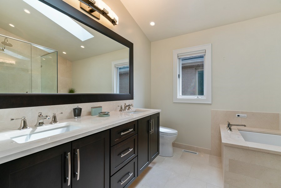 Real Estate Photography - 1710 N. Burling, Chicago, IL, 60614 - Master Bathroom