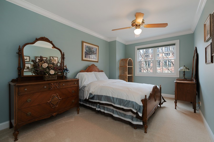 Real Estate Photography - 1710 N. Burling, Chicago, IL, 60614 - 2nd Bedroom