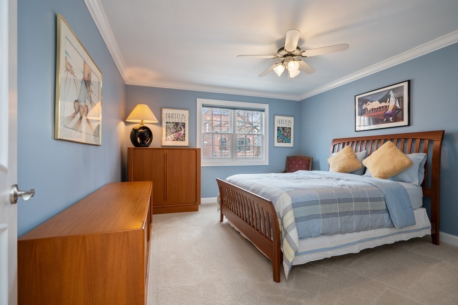 Real Estate Photography - 1710 N. Burling, Chicago, IL, 60614 - 3rd Bedroom