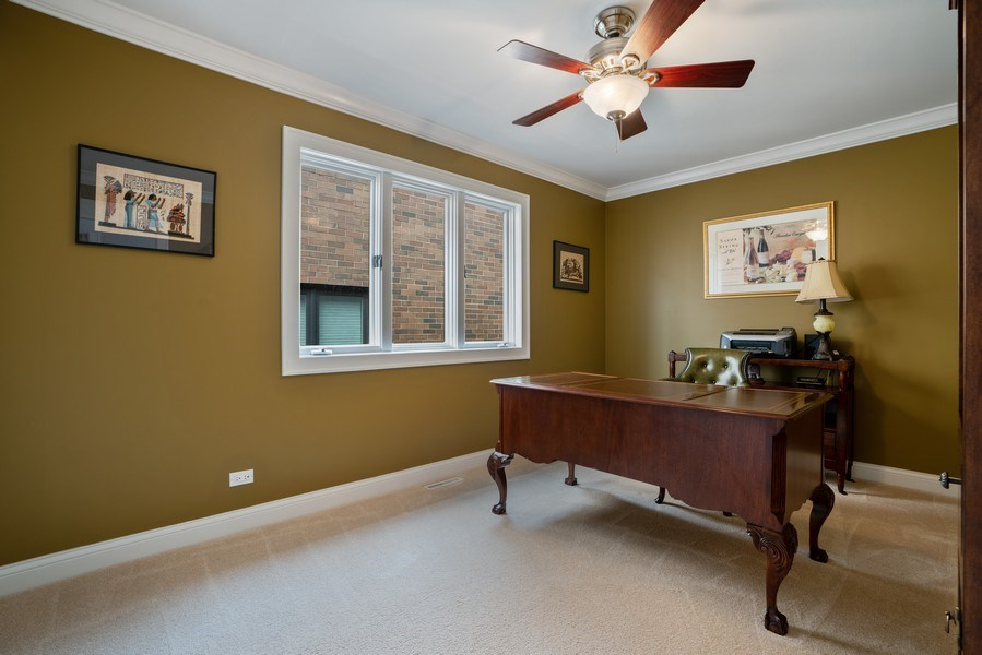Real Estate Photography - 1710 N. Burling, Chicago, IL, 60614 - 4th Bedroom