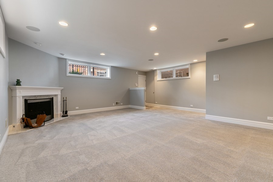 Real Estate Photography - 1710 N. Burling, Chicago, IL, 60614 - Lower Level