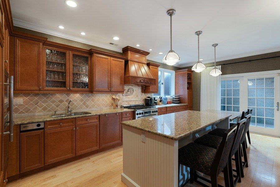 Real Estate Photography - 1710 N. Burling, Chicago, IL, 60614 - Kitchen