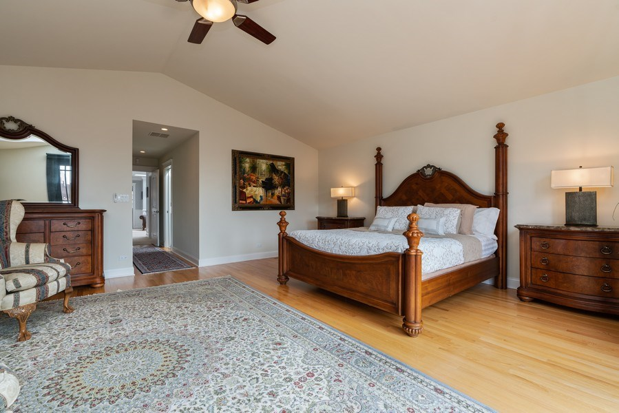 Real Estate Photography - 1710 N. Burling, Chicago, IL, 60614 - Master Bedroom