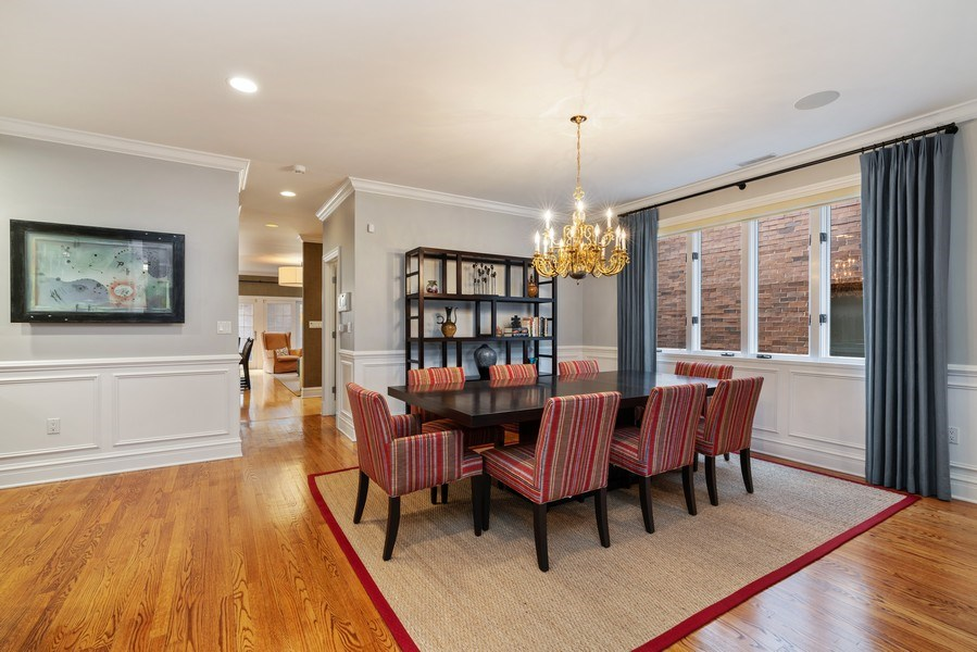 Real Estate Photography - 1710 N. Burling, Chicago, IL, 60614 - Dining Room